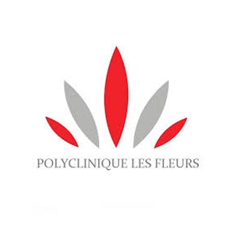 Logo Polyclinique les fleurs